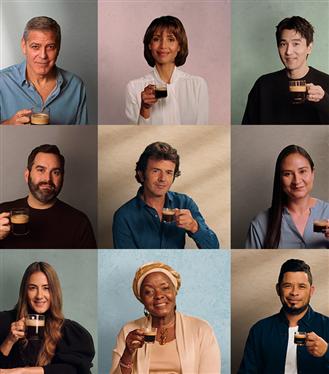 George Clooney ve Nespresso Hayranı Ünlü İsimler Anlamlı Bir Kampanyada Buluştu