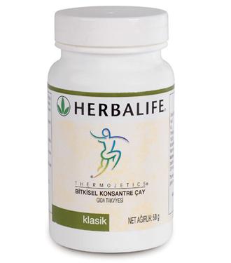 Herbalife`tan Thermojetics hazır bitkisel çay