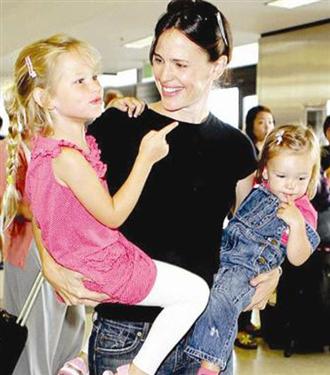 Jennifer Garner süper bir anne