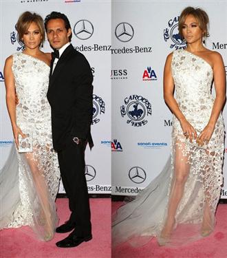 Jennifer Lopez göz kamaştırdı