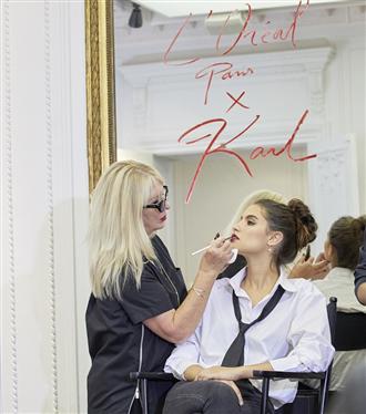 KARL LAGERFELD X L'Oréal Paris Koleksiyonu Makyaj Meraklılarıyla Buluştu