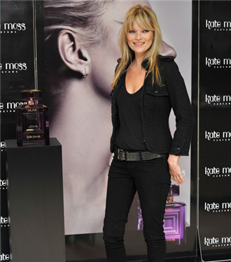 Kate Moss Muse parfümünü tanıttı