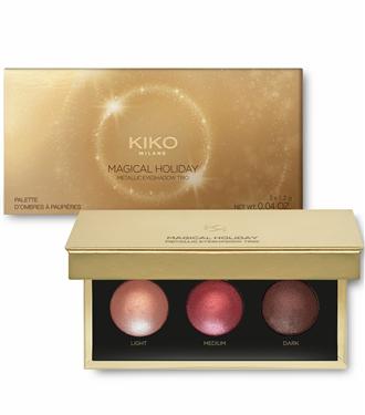 Kiko Milano Magical Holiday Koleksiyonu ile Yeni Yıla Işıltı Katıyor