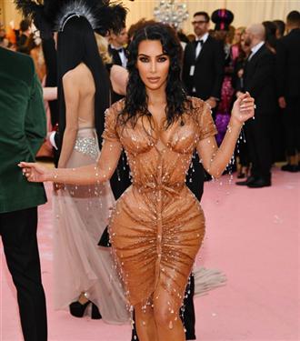 """Kim Kardashian: """"2019 Met Gala İçin Düğünümden Daha Fazla Gerilmiştim"""""""