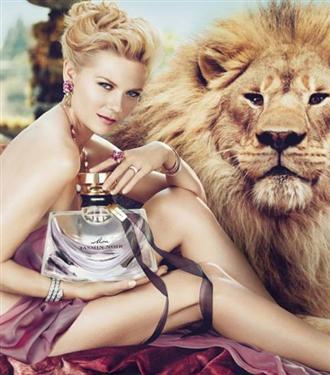 Kirsten Dunst Bulgari reklamında