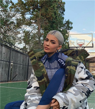 Kylie Jenner'dan İlhamla Kamuflaj Mont Önerileri