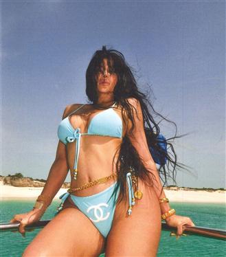 Kylie Jenner'ın Gösterişli Tatili