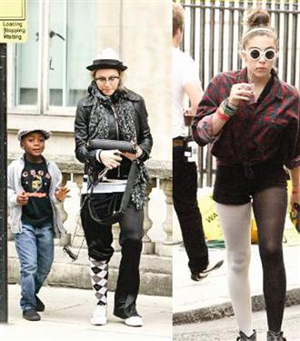 Madonna kızı ile bir örnek
