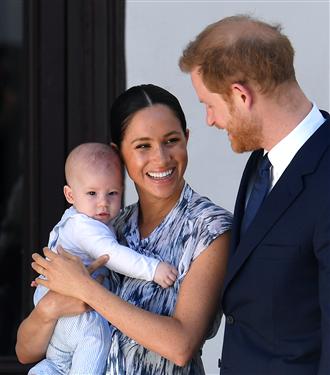 Meghan Markle ve Prens Harry'nin Bebekleri Archie İle Tanışın