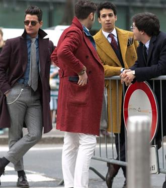 Moda Haftalarından Sokak Stili