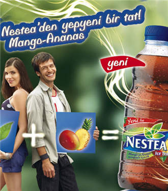 Nestea Ice Tea'den Mango & Ananas