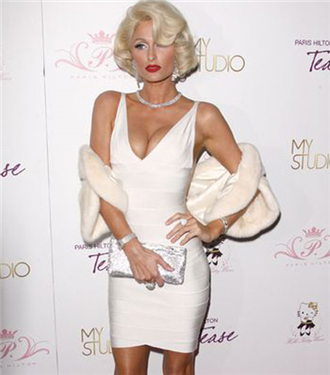 Paris Hilton, Marilyn Monroe oldu