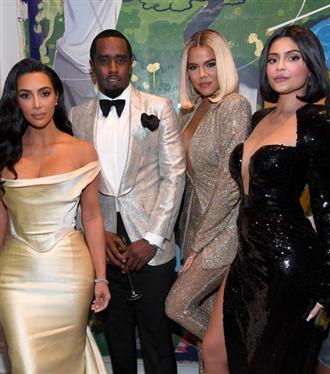 P.Diddy'nin 50. Yaş Günü Partisine Kardashian Kadınları Damga Vurdu