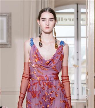 Schiaparelli Sonbahar 2017-18 Couture Defilesi