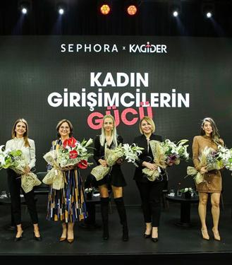 Sephora Türkiye ve KAGİDER'den Kadın Girişimcilere Sürdürülebilir Destek