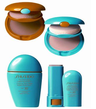 Shiseido güneş makyajı