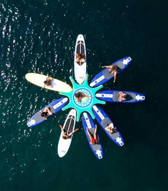 Sup Yoga Island ile Denizde Yoga Huzuru