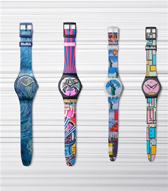 Swatch ve MoMA İş Birliği Özel Edisyon Saatleri Sunar