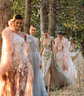 Tüm Görkemiyle Elie Saab 2021 Sonbahar/Kış Couture Tasarımları
