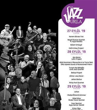 Urla Jazz Festivali 27-28-29 Eylül'de!