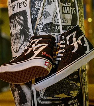 Vans x Foo Fighters Sk8-Hi 29 Ocak'ta Satışta