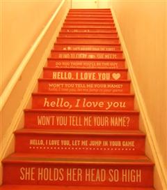 10 Farklı Tasarımla Merdiven Sanatı