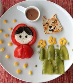 Brezilyalı anneden yaratıcı yemek tabakları