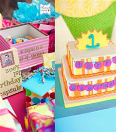 Çocuğunuzun 1.yaş günü için kutlama fikirleri