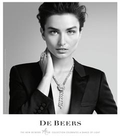 De Beers Sonbahar Kış 2014 mücevher koleksiyonu