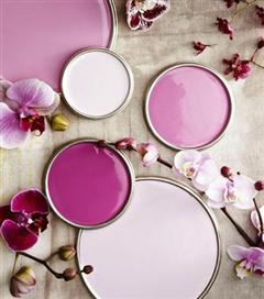 Dekorasyonda Radiant Orchid etkisi