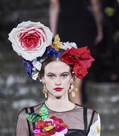 Dolce & Gabbana Alta Moda Şovundan Büyüleyen Detaylar