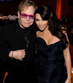 Elton John AIDS Party