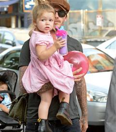 Harper Beckham 3 yaşında