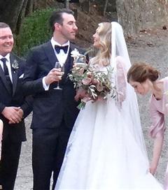 Kate Upton ile Justin Verlander Evlendi