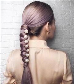 Lila Renk Saçlar İçin İlham Alacağınız 10 Kusursuz Görünüm