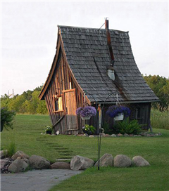 Masallardan ilham alan evler