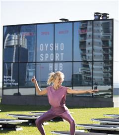 Oysho Sport Hub İstanbul'daydı