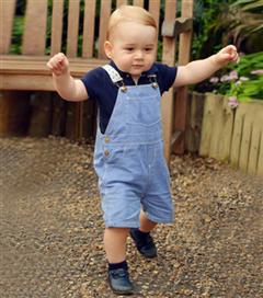 Prens  George 1 Yaşında