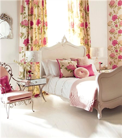 Romantik yatak odası için öneriler
