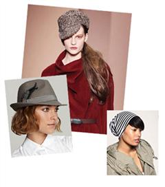 Şapkayla uyumlu saç modelleri