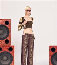 Versace Resort 2021 Koleksiyonundan İddialı Tasarımlar