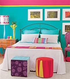 Yatak odanızı renklendirin