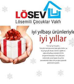 Yılbaşı hediyelerinizi Lösev`den alarak çocuklara destek olun