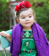 2 yaşındaki Willow`un Cadılar Bayramı kostümleri