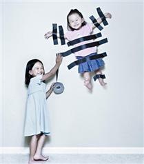Fotoğrafçı babanın objektifinden eğlenceli kareler