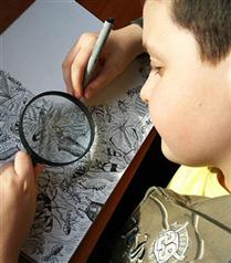 11 yaşındaki sanatçının etkileyici resimleri