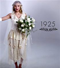 1915`ten 2015`e Gelinlik Modası