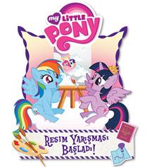 4. My Little Pony`nin Resim Yarışması