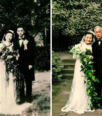 70 Yıl Sonra Aynı Poz