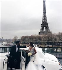 Açalya Samyeli Danoğlu'nun Paris'teki Düğünü